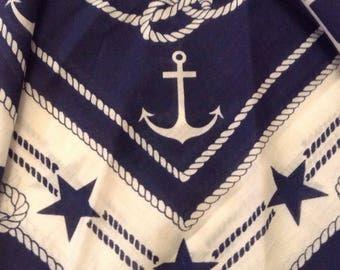 Vintage Bandana / Nautical