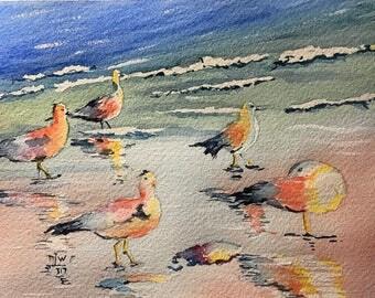 Early Morning (Original Watercolor Painting)
