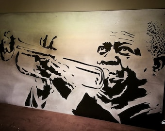 Louis Armstrong Stainless Steel