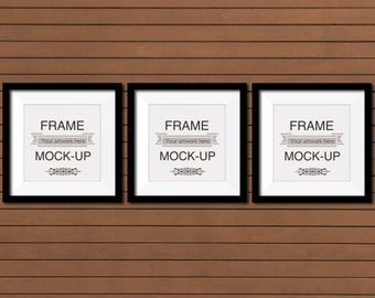 picture frame mockup artwork overlay digital frame stock image product mockup square frames etsy listing mockup 10 x 10 inch download