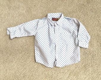 Vintage Baby Dress Shirt