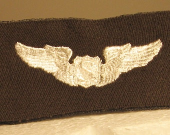 WWII USAAF Cloth Service Pilot Wing