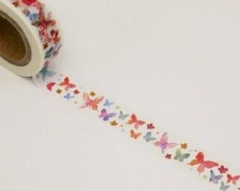 Fluttering Butterflies Washi Tape
