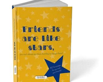 Friendship book 'Friends are like stars'