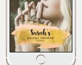 Custom Snapchat Filter, Snapchat Geofilter Birthday, 30th birthday for her, Wedding Snapchat Filter,  Snapchat Geofilter Baby Shower
