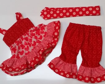 3-Piece Play Outfit - For 18 inch Doll Clothes (A-3)  Fits American Girl size dolls
