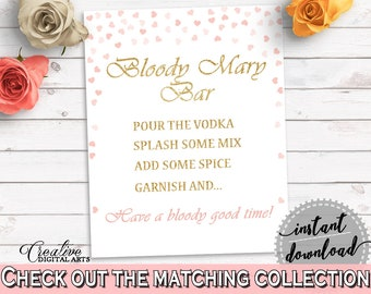 Bloody Mary Bridal Shower Bloody Mary Pink And Gold Bridal Shower Bloody Mary Bridal Shower Pink And Gold Bloody Mary Pink Gold - XZCNH