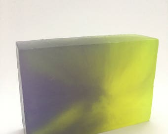Lavender Glycerin Bar Soap  Handmade Glycerin Soap