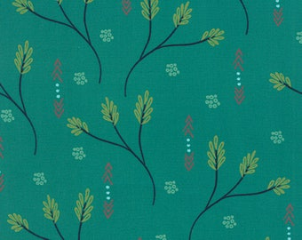 SALE Valley Creosote Teal by Sherri & Chelsi for Moda Fabrics - 37510 17 Moda - Sold by 1 Yard