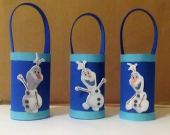 Olaf goodie bag, Frozen Favors,Frozen goodie bags, Olaf Favors
