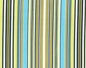 AB05 - Okra Fabric Amy Butler Belle Collection - Oxford Stripe
