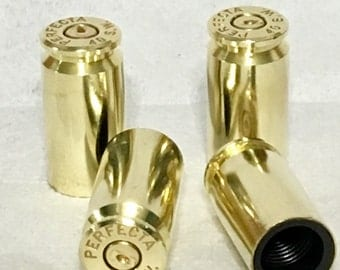 Valve Stem Caps - Onced Fired Brass - Muscle car -
