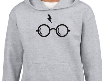Harry Potter illuminating flashlight glasses hoodie