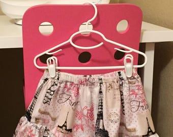 Summer style ruffled skirt
