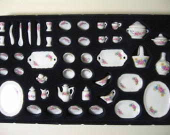Miniature Dinner & Tea Set