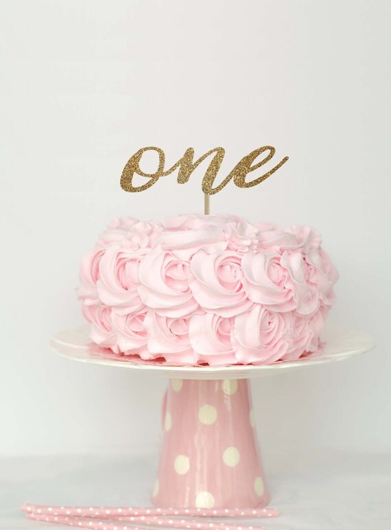 First birthday cake topper 1 cake topper one cake topper