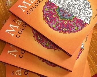 Mandala coloring book adult coloring book mandalas coloring books