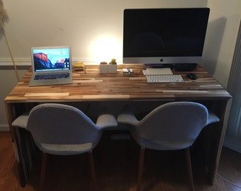 Butcher Block Desk