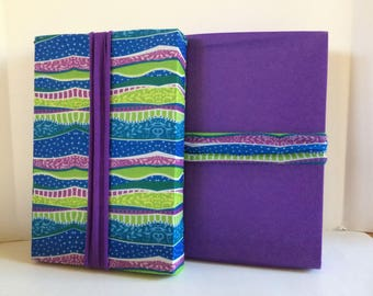 "New from ""Regift The Wrap""...Reusable Stretch Fabric Gift Wrap-WAVY STRIPES Combo Pack"