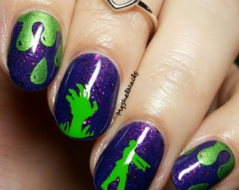Zombie Nail Decal