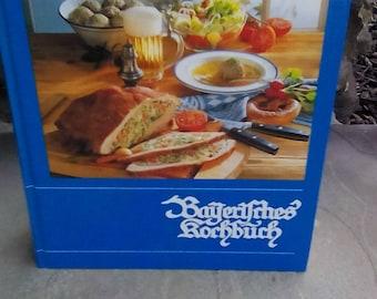 1998 Bavarian Cookbook Bayerisches Kochbuch Maria Hoffman German Language