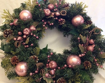 Pretty in Pink Wreath