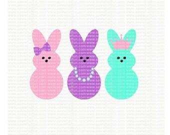 Easter SVG, cutting file, easter vinyl design, vinyl file, svg, easter, svg file, cameo file, girl easter, cricut, cricut file, girl, peeps