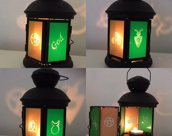 God Lantern Candle Holder