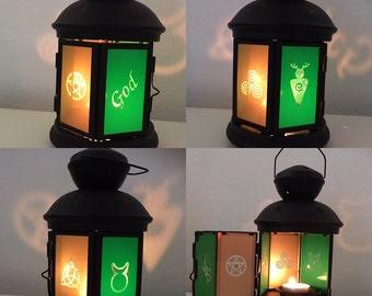 God Lantern Candle Holder