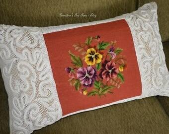 Vintage Embellishment Pillow