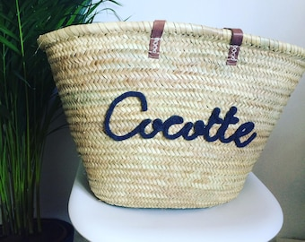 Personalized Tote basket