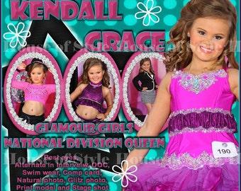 Congratulations Holiday Good Luck Digital Banner Pageant Banner Hobby Banner