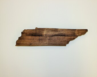 Tennessee Wood Sign, Tennessee Wall Art, Tennessee Decoration, Tennenssee Wall Decor