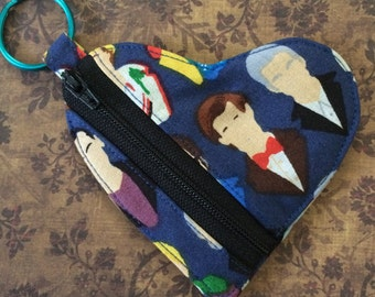 I Heart the Doctor Coin Purse/Earbud Pouch