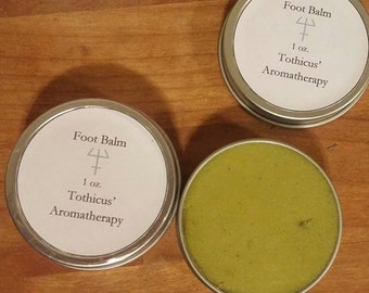 Mint-y Fresh Foot Balm