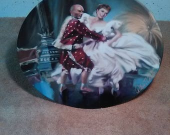 SHALL WE DANCE #16949A E.M. Kowles Collecter Plate