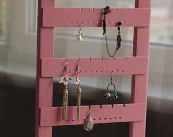 Earring organizer Earring holder Earring holder stand Earring stand Jewelry holder Earring display Earring holder frame