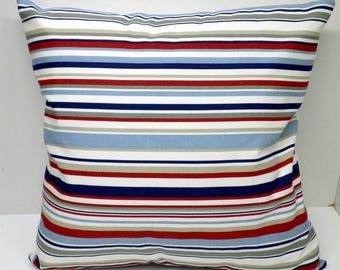Nautical Stripe Cushions with Fillers Various Sizes 28cm , 36cm, 43cm , 60cm