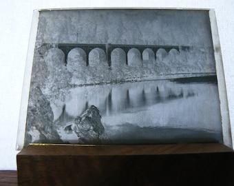 Victorian Photograph Negatives, Dry Plates, Bridges, Vintage, Pictures, 1900