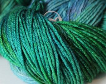 Hand Dyed Yarn Merino Wool Sock 100g - Aegir