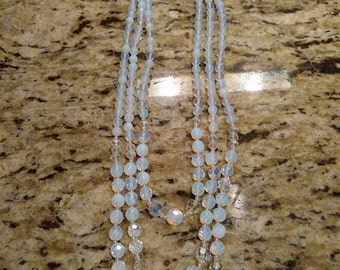 Opaline Art Deco Style Necklace
