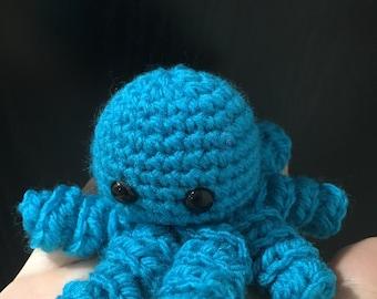 Mini Crochet Octopus