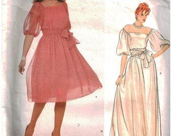 Vintage Vogue American Designer Pattern 2983 Jerry Silverman  Uncut Size 12 14 16