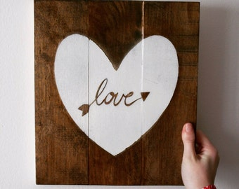 Valentines Holiday Home Sign