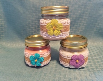 8oz & 16oz 100% All Natural Soy Wax Candle