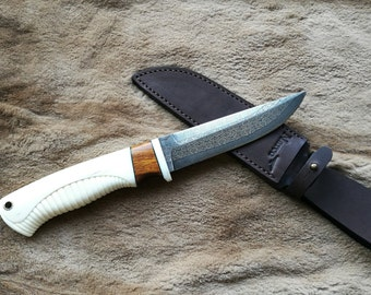 Bushcraft Knife / Damascus knife / Survival Knife / Hand made Knife / Camping Knife / Hunting Knife /