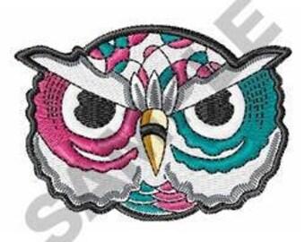 Owl - Machine Embroidery Design