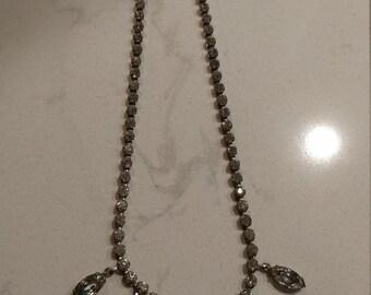 Dazzling Vintage Rhinestone Choker/Necklace