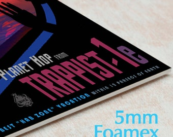Mounted NASA Poster Visions of the Future print, Space Tourism Posters from JPL > includes new TRAPPIST-1 Nasa Poster