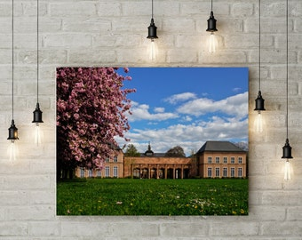 Leipzig in spring, Grassimuseum, Photoprint, Art, Printart - Poster, Acrylic, PVC foamboard, canvas print